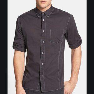 John Varvatos Star USA Solid Slim Fit Sport Shirt